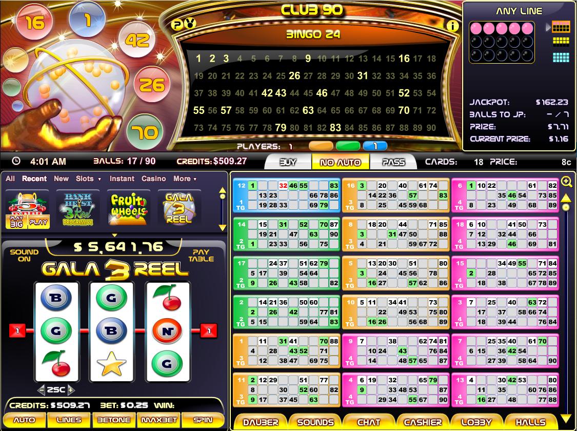 Bingo Bar Lobby